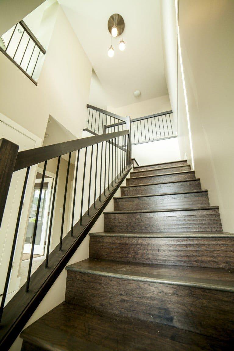 The Cambridge - Custom Home Floor Plan Staircase