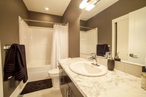 The Cambridge - Custom Home Floor Plan Bathroom