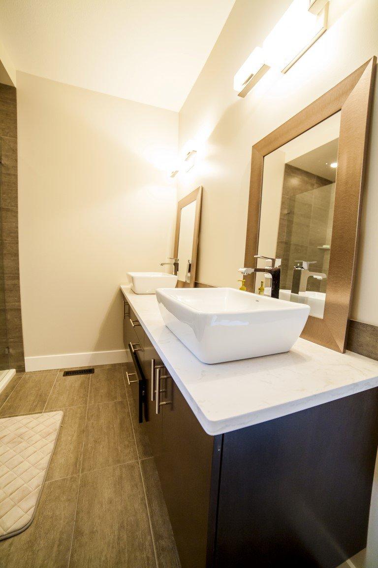 The Cambridge - Custom Home Floor Plan Double Sinks