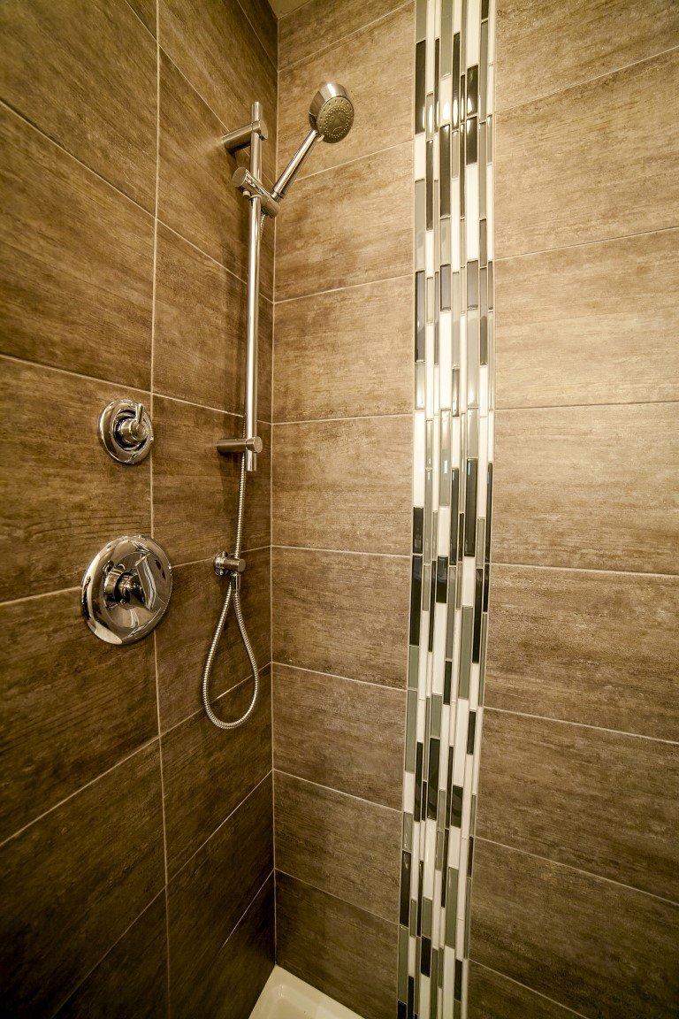 The Cambridge - Custom Home Floor Plan Shower