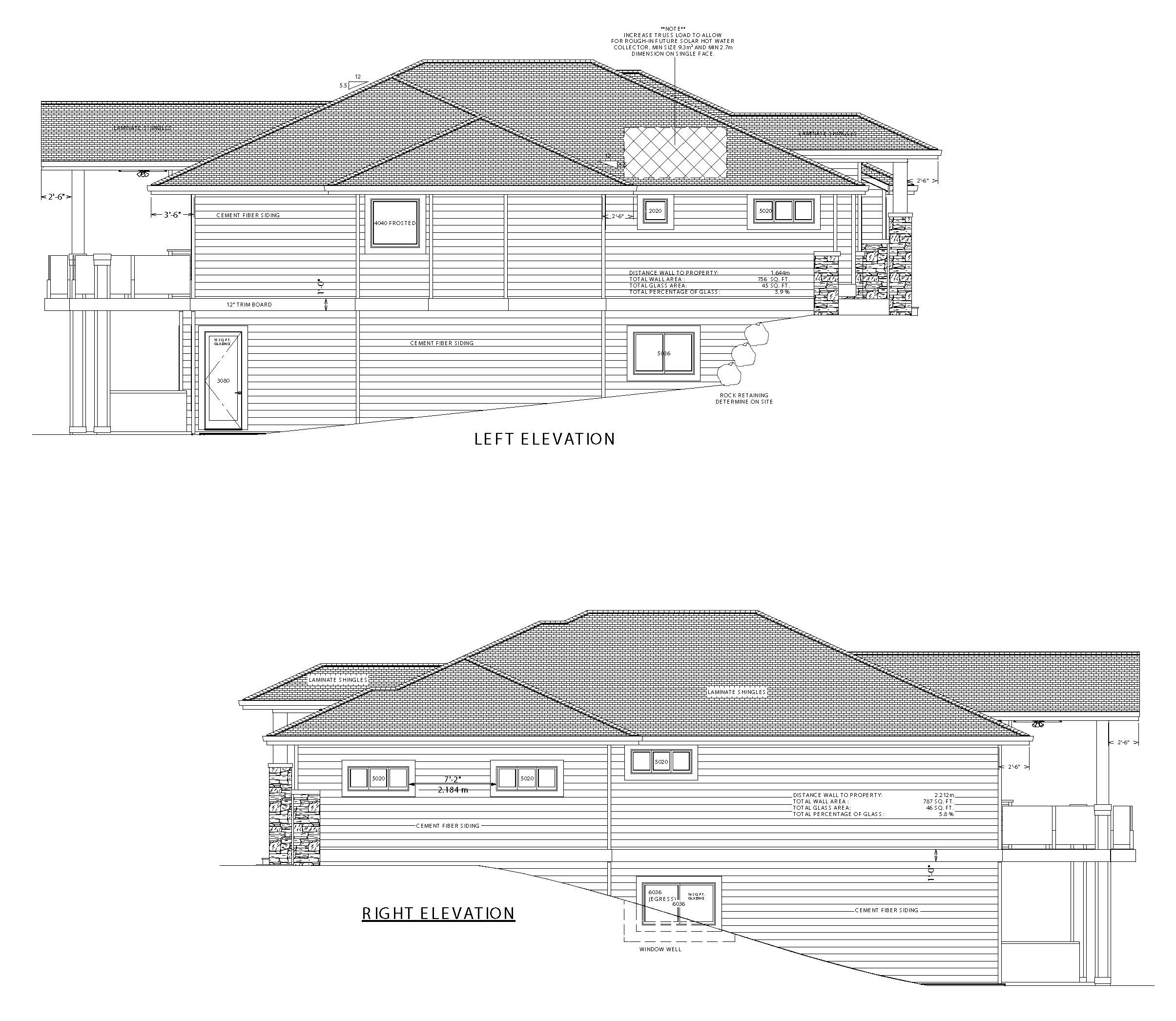 The Columbia Page 2 - Custom Home Plans / Elevations