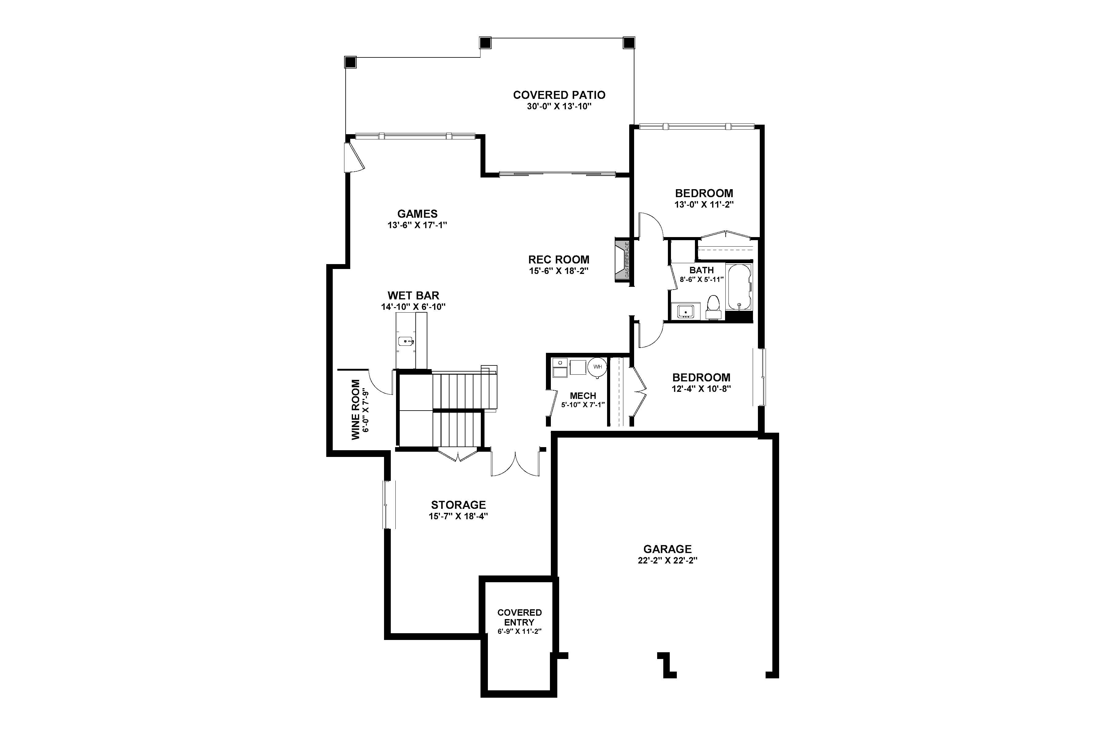 The Columbia Page 3 - Custom Home Plans / Elevations