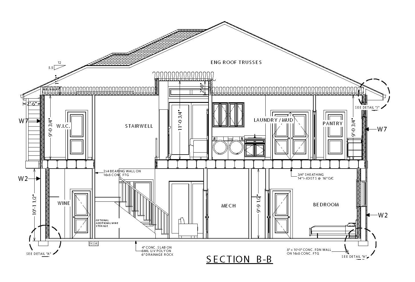 The Columbia Page 6 - Custom Home Plans / Elevations