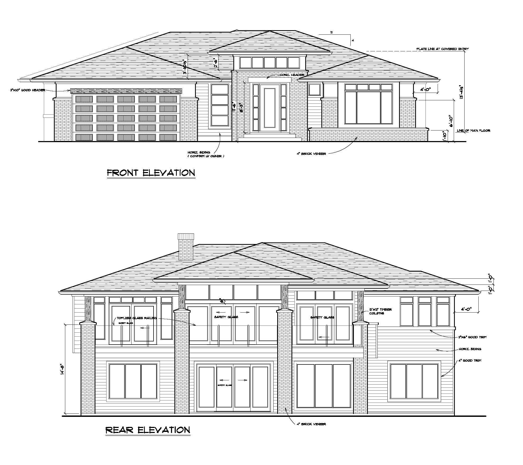 The Cooper - Custom Home Floor Plan 11