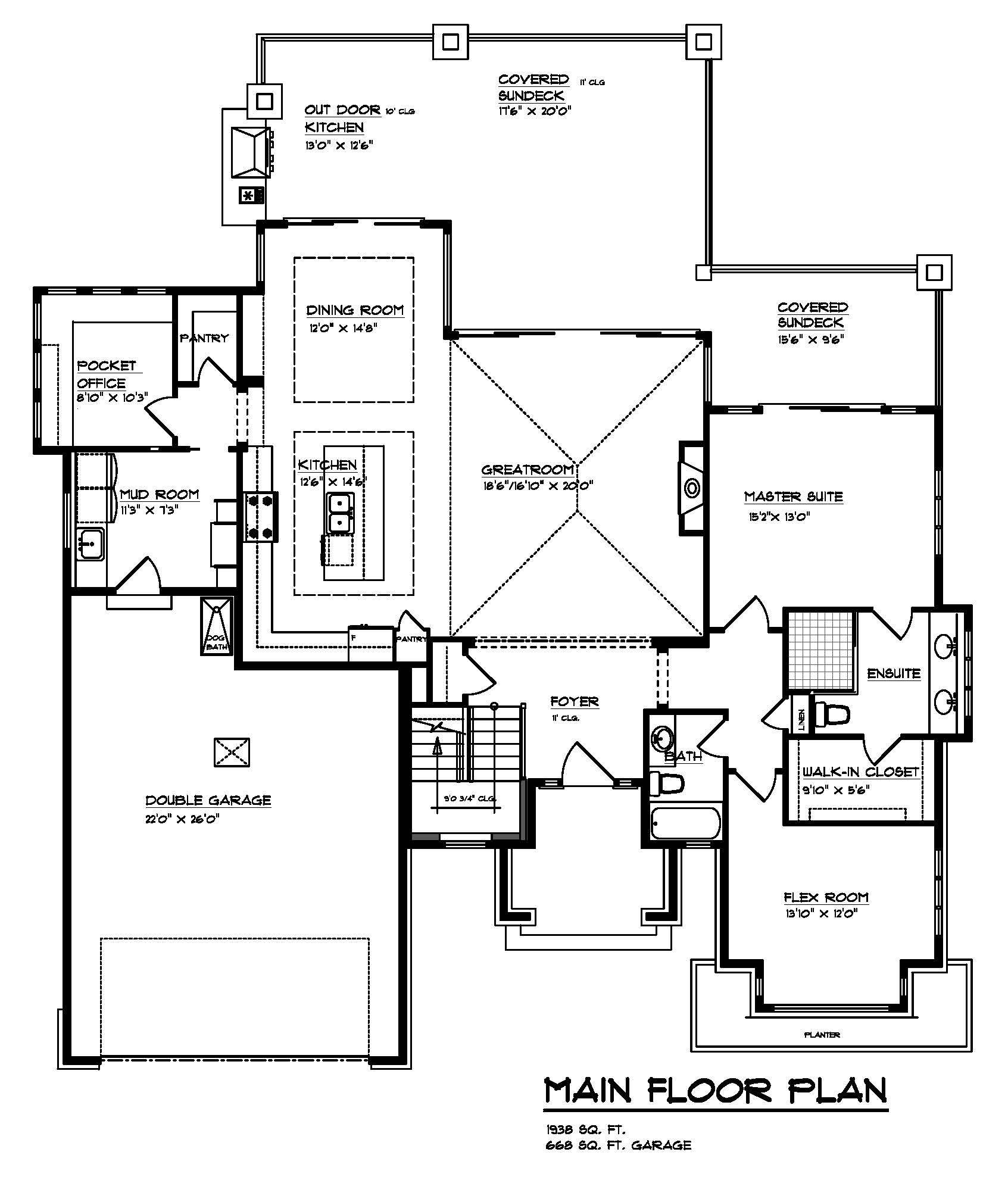 The Cooper - Custom Home Floor Plan 2