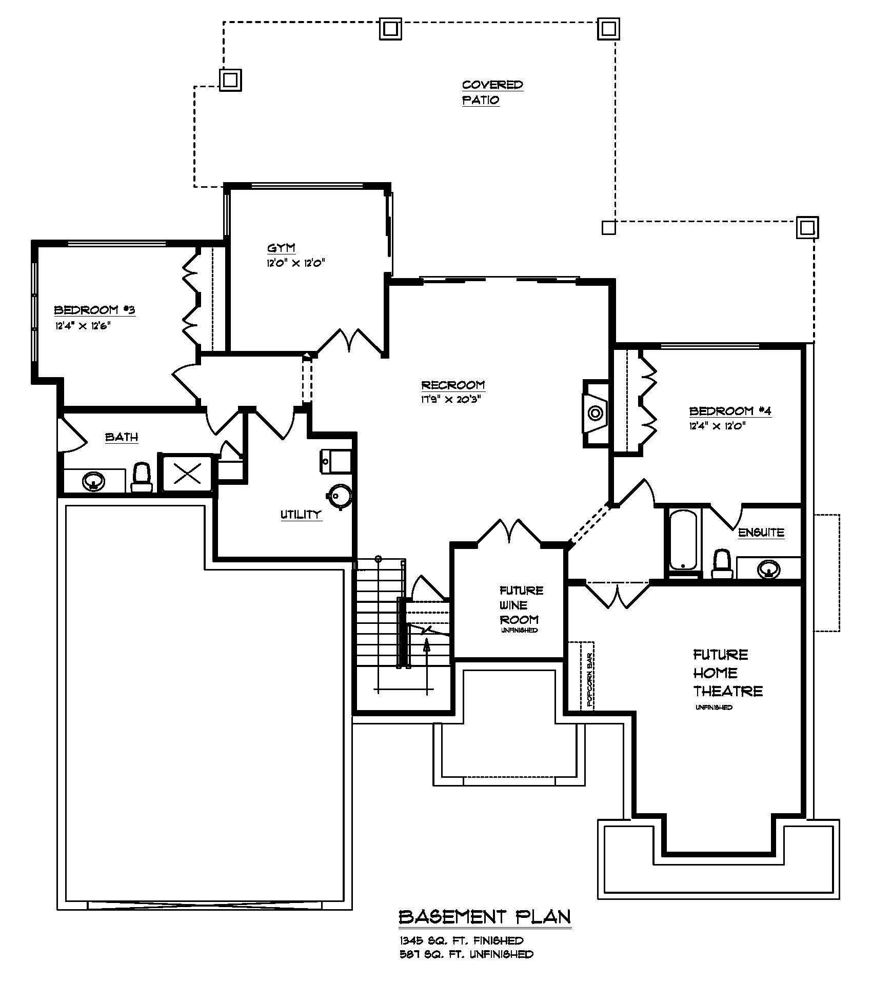 The Cooper - Custom Home Floor Plan 3