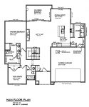 The Cypress - Custom Home Floor Plan 3