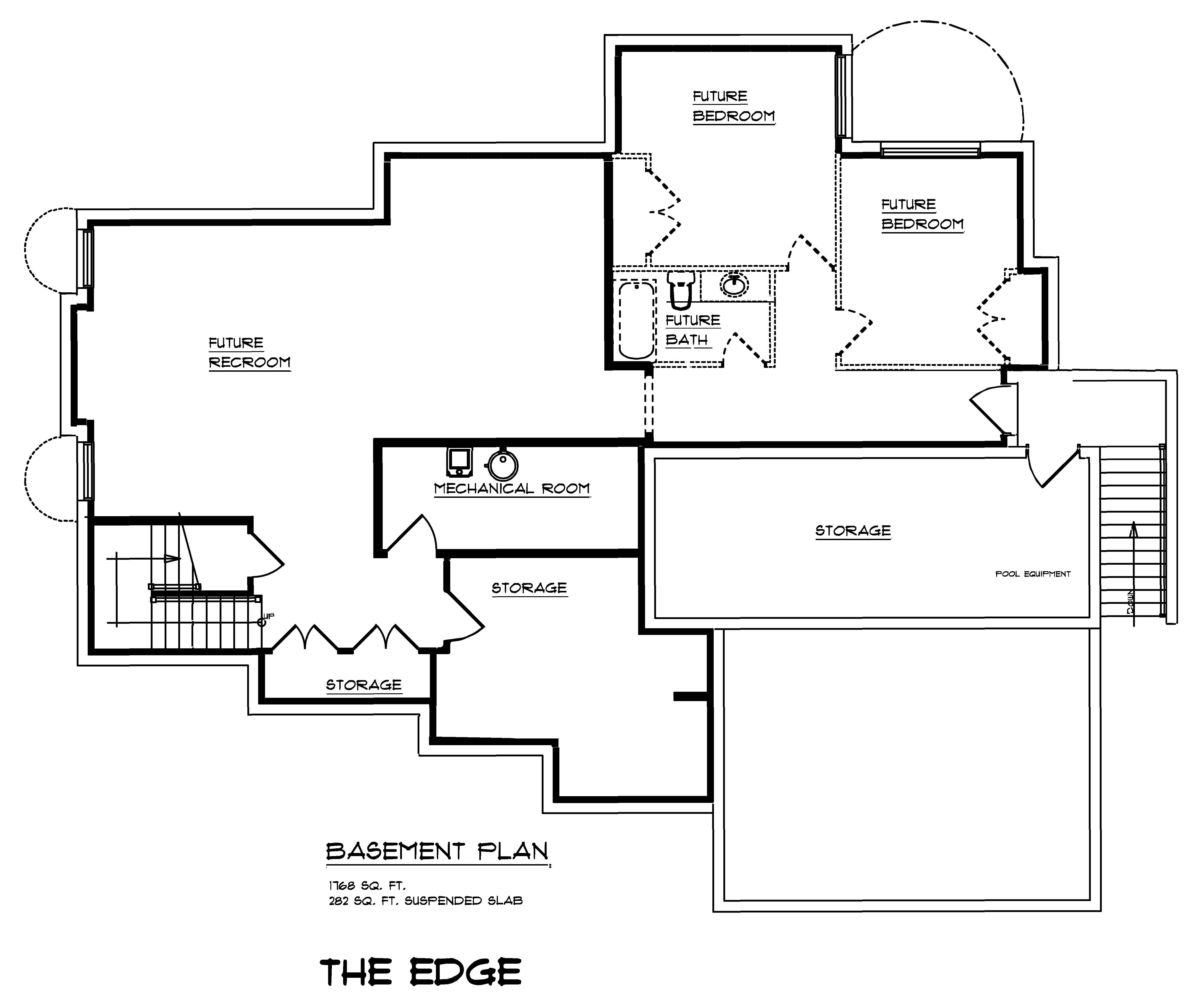 The Edge - Custom Home Floor Plan 3