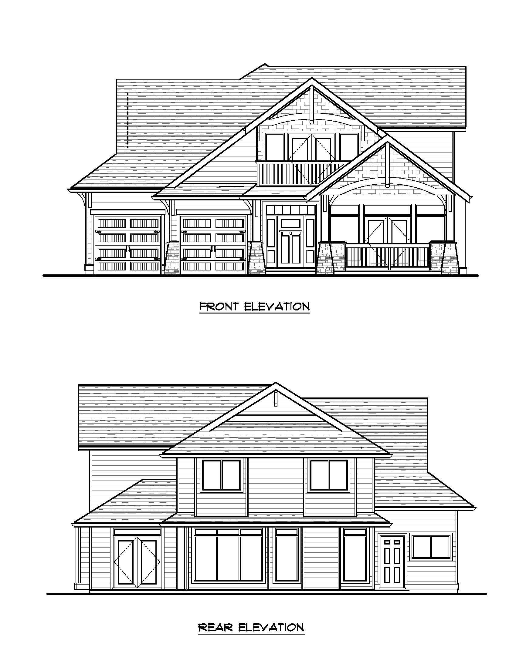 The Lynwood - Custom Home Floor Plan 1