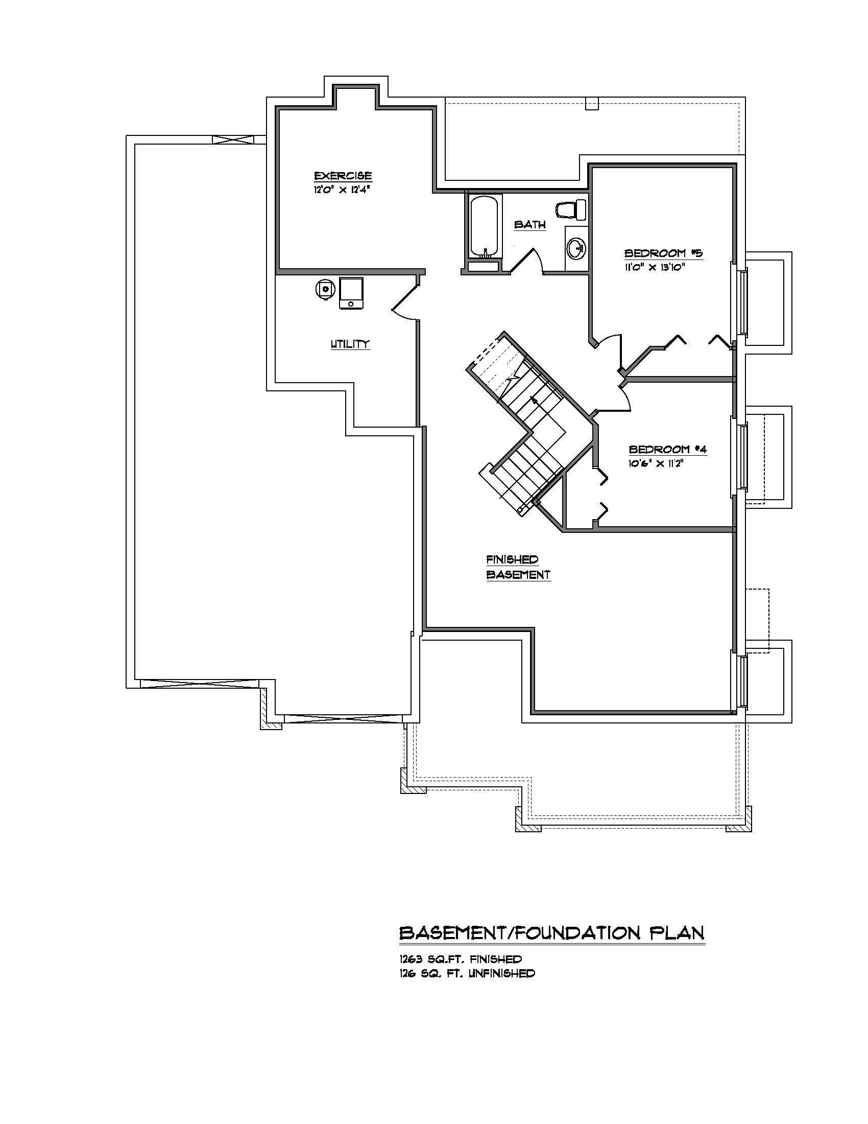 The Lynwood - Custom Home Floor Plan