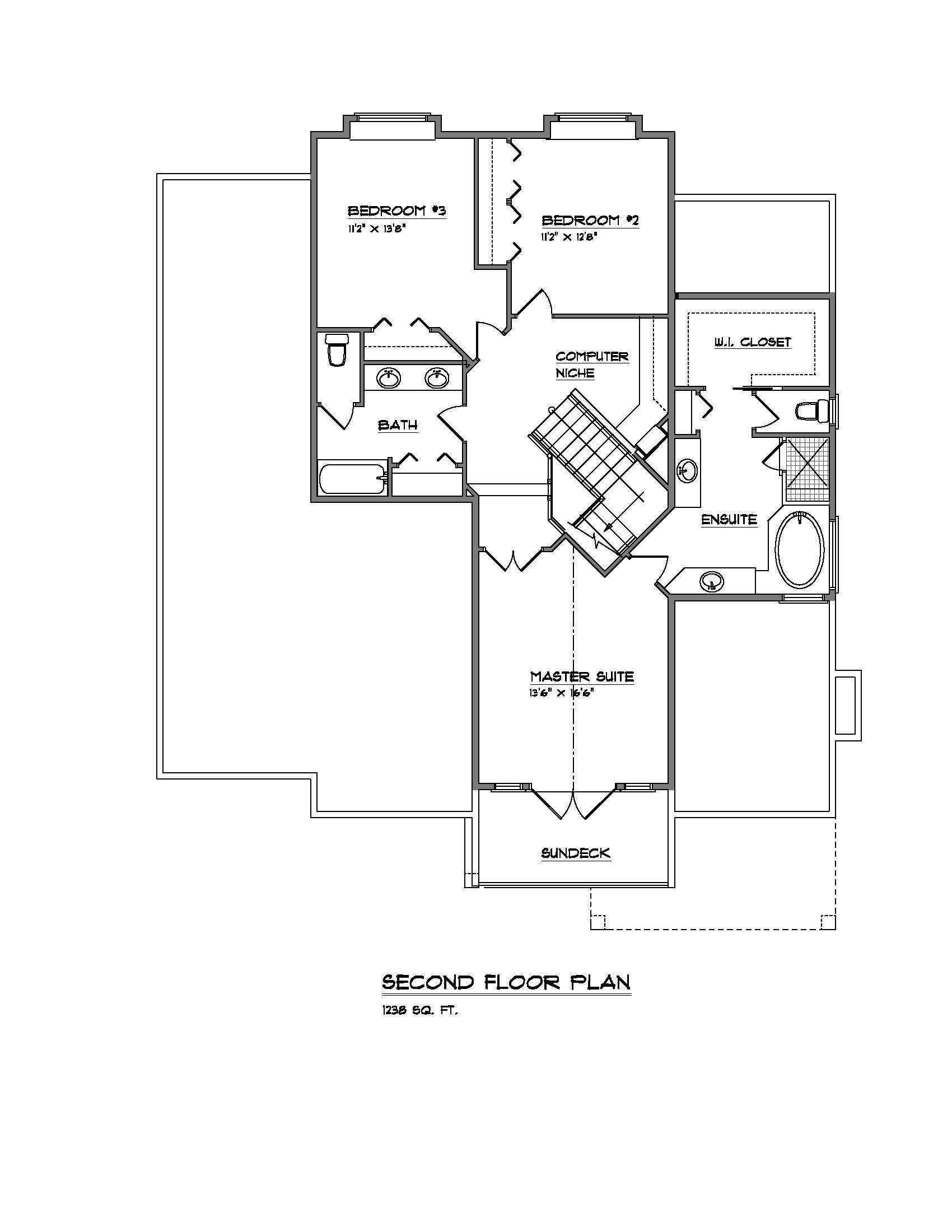The Lynwood - Custom Home Floor Plan 4