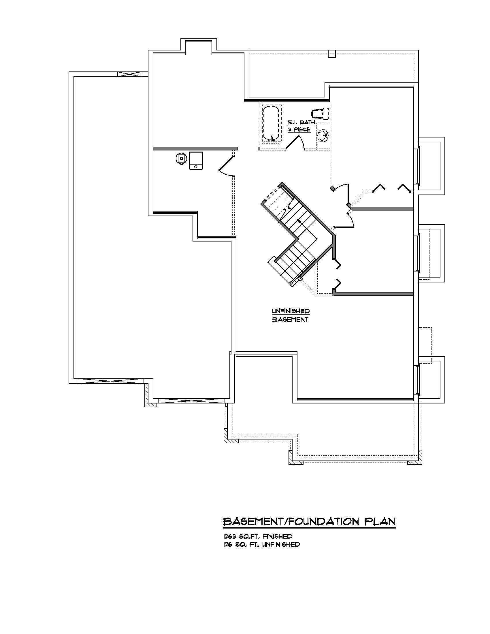 The Lynwood - Custom Home Floor Plan 5