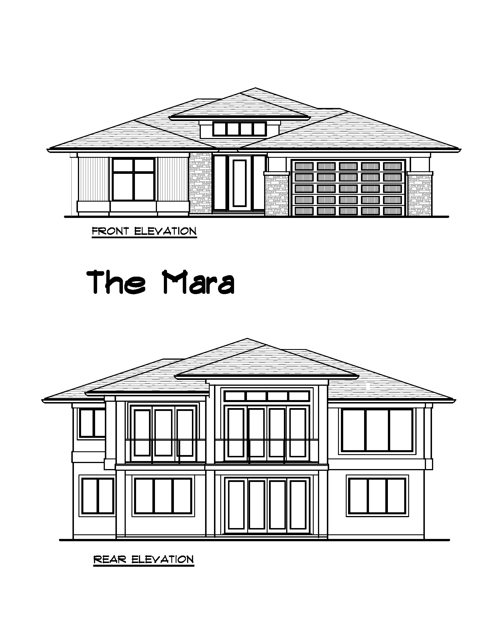 The Mara- Custom Plan