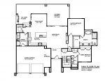The Panorama Custom Home Floor Plan 2