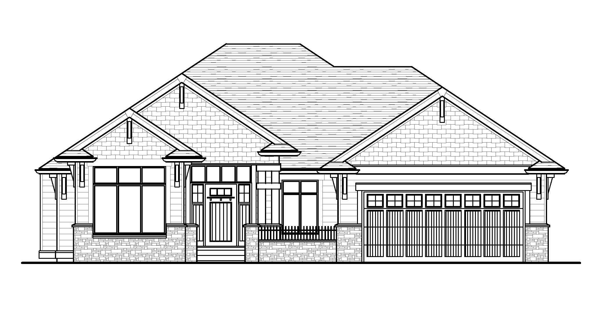 The Prestwick - Custom Home Floor Plan 1