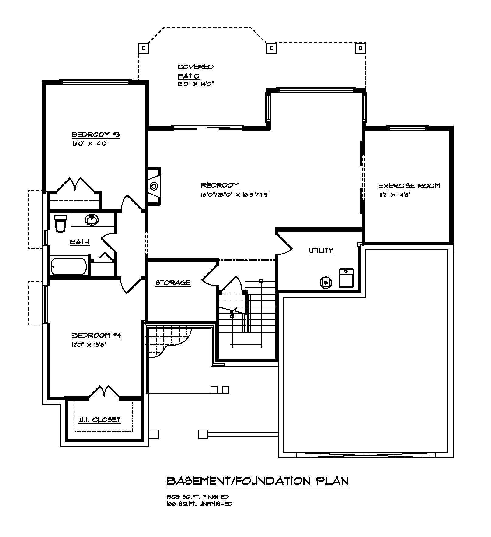 The Prestwick - Custom Home Floor Plan 2