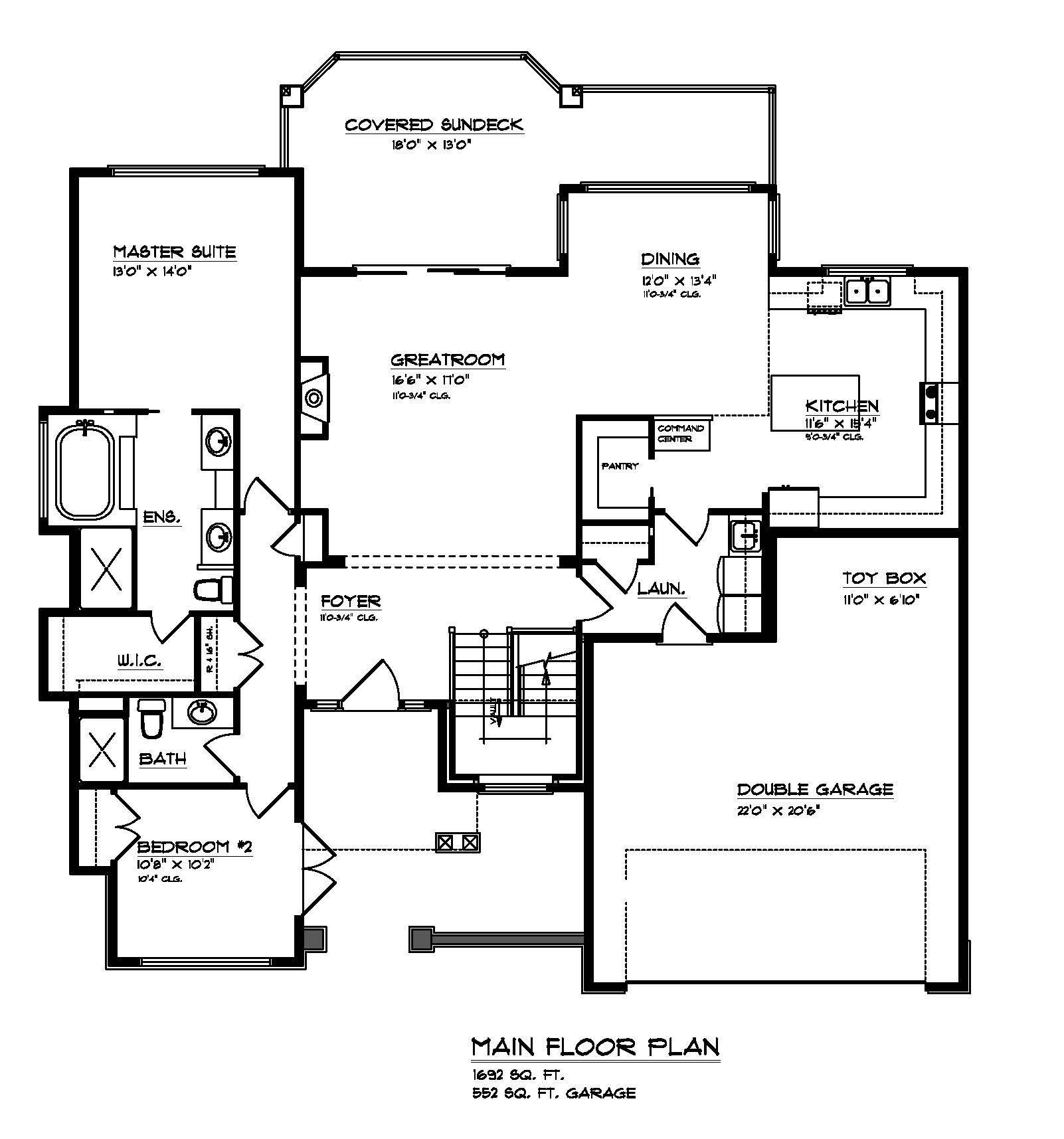 The Prestwick - Custom Home Floor Plan 3
