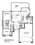 The Skyline Custom Home Floor Plan 3