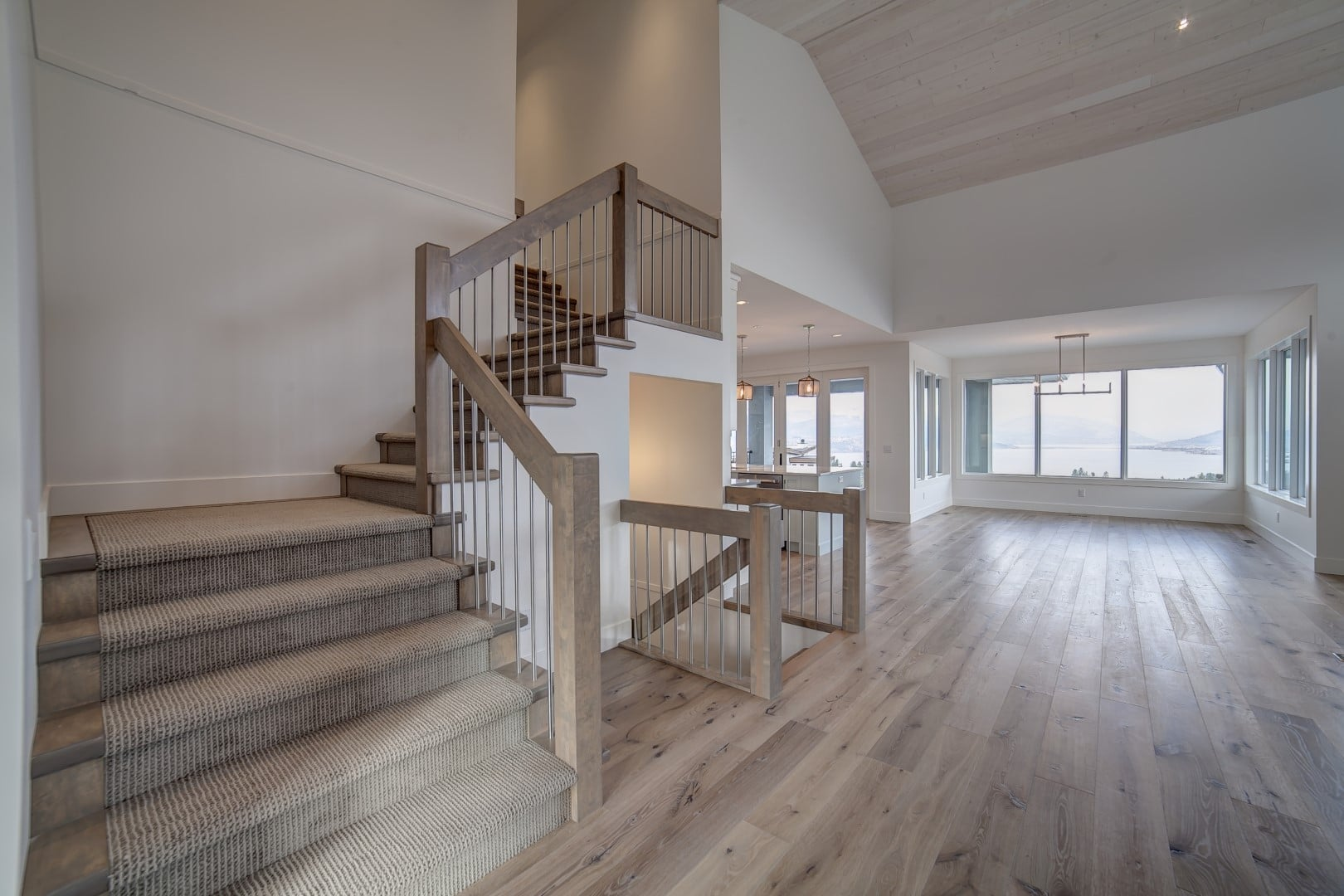 Vistas Show Home Entry Stairs