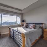 Bedroom with view of Wilden