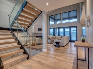Wilden - Rocky Point - Show Home, Living Room Staircase (16)