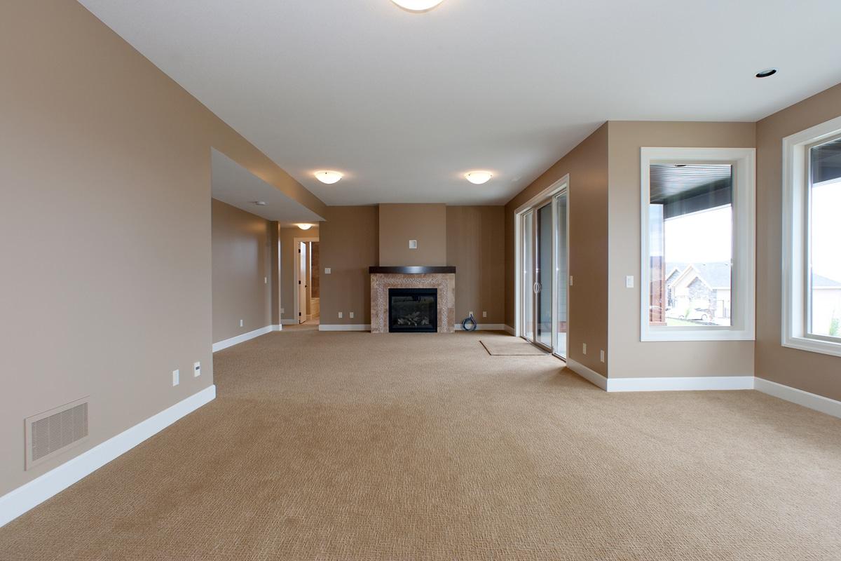 The Prestwick - Custom Home Floor Plan Basement