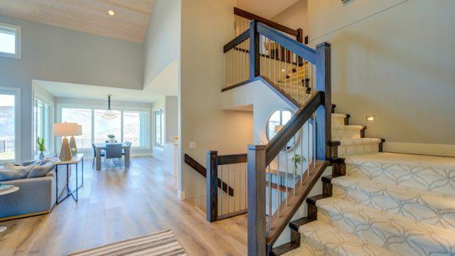 Austin & Andrea, Lot 71 (24), Custom Staircase