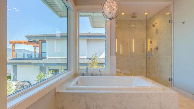 Austin & Andrea, Lot 71 (28), Tiled Bathtub With Lake View