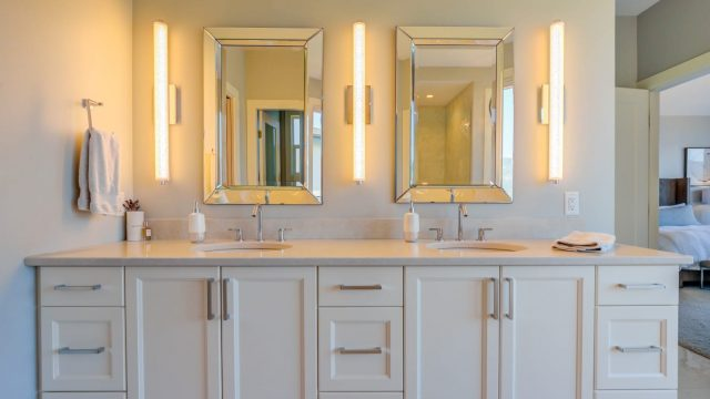 Austin & Andrea, Lot 71 (30), Double Sink Layouts and Lighting