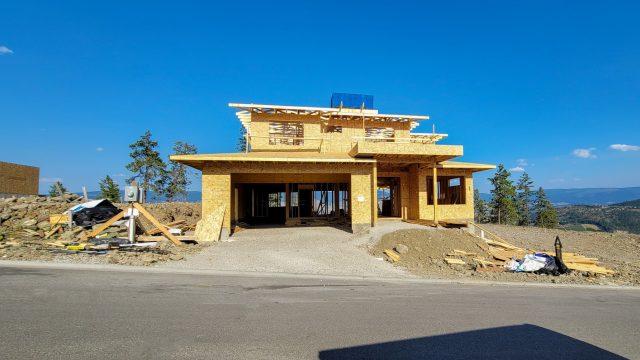 Echo Ridge Lot 101, Finishing Up The Framing