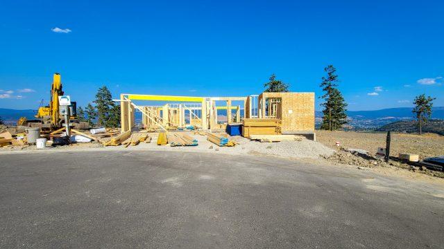 Echo Ridge Lot 103, Good Progress!