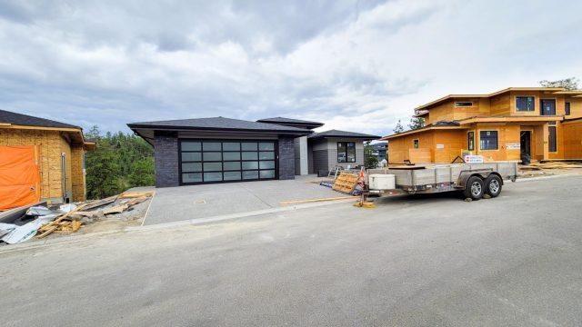 Echo Ridge Lot 2, Siding and Driveway Done