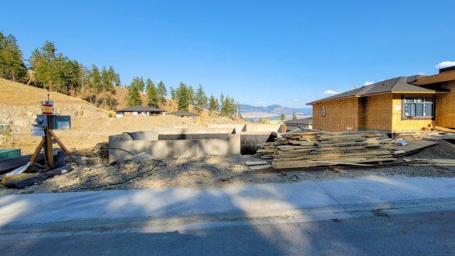 Echo Ridge Lot 43, Foundation Done!