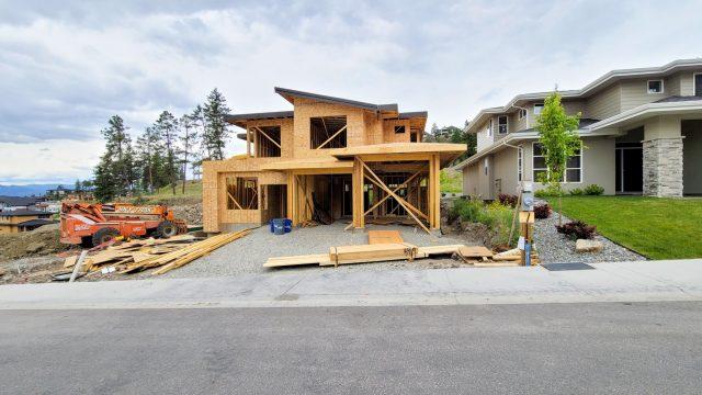 Echo Ridge Lot 49, Framing Almost Done