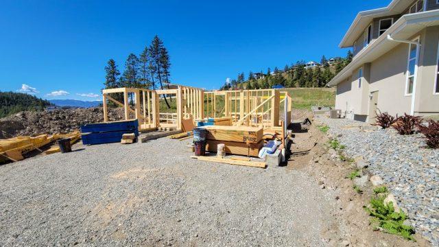 Echo Ridge Lot 49 Framing Going Well