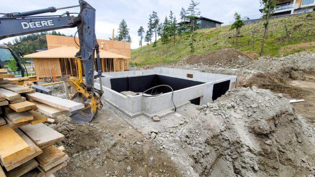 Echo Ridge Lot-63 - Foundation Done
