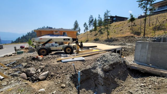 Echo Ridge Lot 63, Framing Underway
