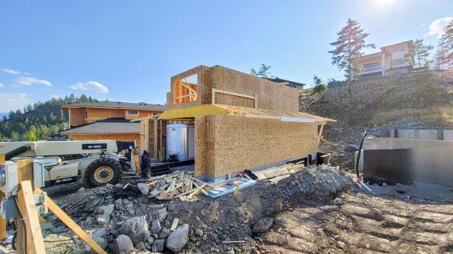 Echo Ridge Lot 63, Great progress on framing