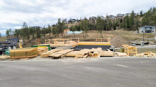 Echo Ridge Lot-81 - Framing Looking Good