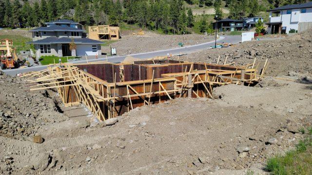 Echo Ridge Lot 84, Foundation Prep