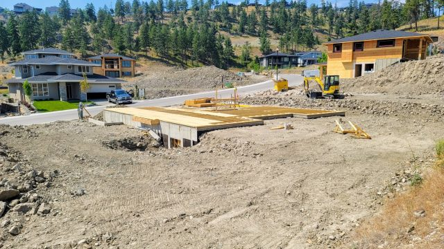 Echo Ridge Lot 84, Framing Started