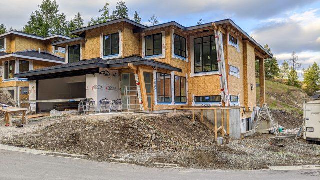 Echo Ridge Lot 88 House Wrap Started
