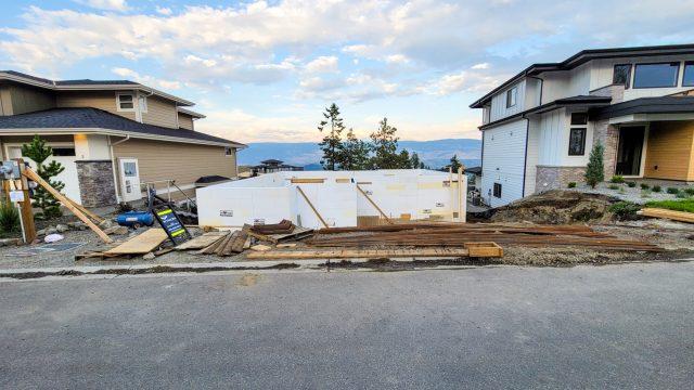 Echo Ridge Lot 9, Foundation Going Up