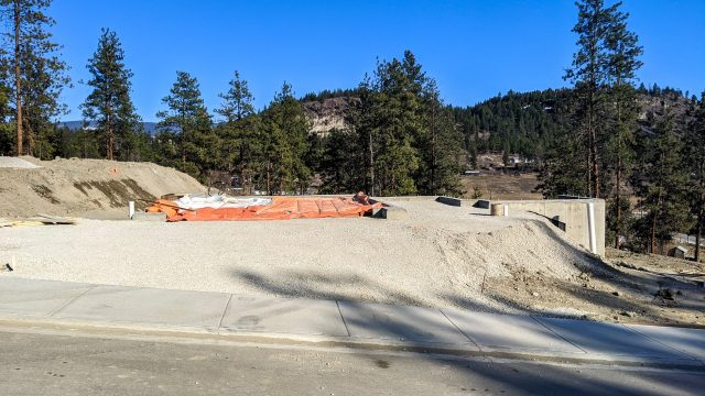Hidden Lake Lot-11, Back Fill Done