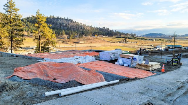 Hidden Lake Lot-13 - Backfilled Framing Coming Up