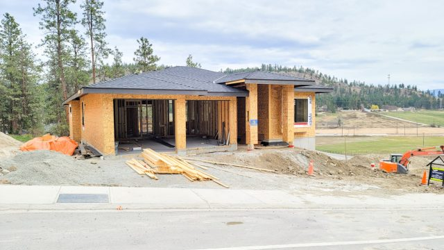 Hidden Lake Lot-13 - Framing and Roofing Complete
