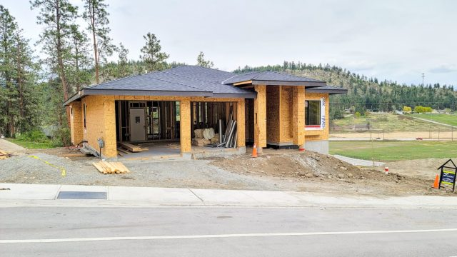 Hidden Lake Lot-13, Roofing Completed