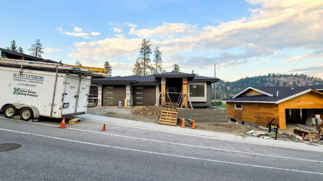 Hidden Lake Lot-13, Siding and Landscaping