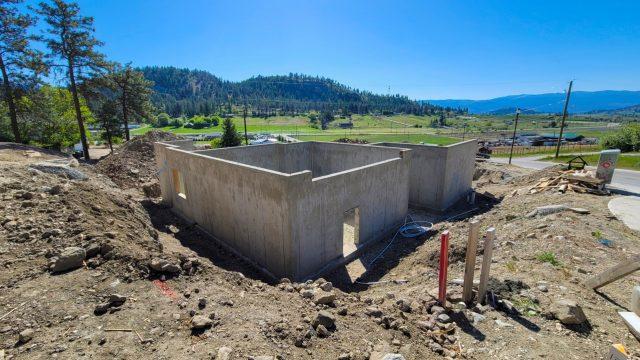 Hidden Lake Lot-14, Foundation Done