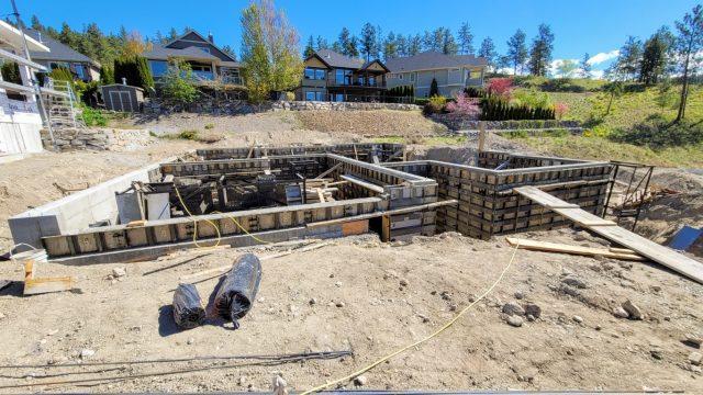 Hidden Lake Lot-2 Foundation Prep